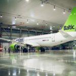 Авиаперевозчик AirBaltic займется ТО машин Airbus A-220